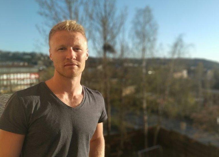 """Lars Toft ved NAV Alna er prosjektleder for """"Koding og arbeid""""."""